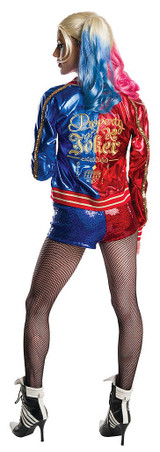 Deluxe Harley Quinn Suicide Squad Adult Costume back