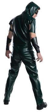 Green Arrow Mens TV Series Deluxe Costume back