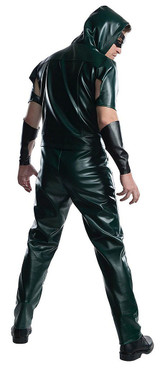Green Arrow Mens TV Series Deluxe Costume back