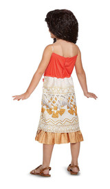 Moana Costume back