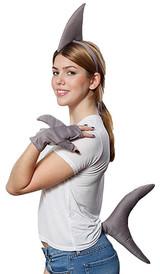 Shark Fin Headband back