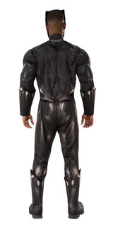 Black Panther Deluxe Adult Costume back