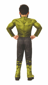 The Hulk Infinity War Deluxe Child Costume back
