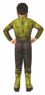 Hulk Infinity War Child Costume back