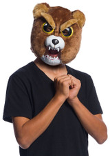Fiesty Pets Sir Growls-A-Lot Animated Mask back