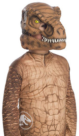 T-Rex Movable Jaw Child Dinosaur Mask back