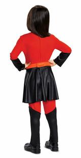 Violet Jumpsuit With Skirt back