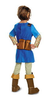 Link Breath Of The Wild Teen Costume back