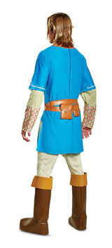 Link Breath Of The Wild Adult Costume back