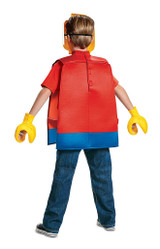 Lego Guy Basic Costume back