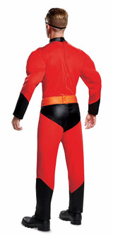 Mr. Incredible Muscle Costume back