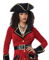 High Seas Pirate Womens Costume back