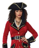 High Seas Pirate Womens Costume back