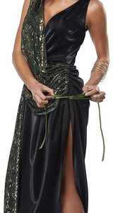Medusa Adult Costume back