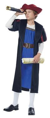 Christopher Columbus Explorer Child Costume back