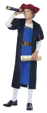 Christopher Columbus Explorer Child Costume back