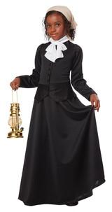 Victorian Suffragette Child Costume back