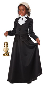 Victorian Suffragette Child Costume back