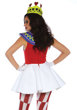 Queen of Hearts Womens Costume back