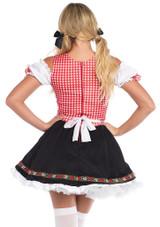 Bavarian Beer Garden Girl back