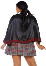 Spellbinding Hermione Adult Costume Plus back