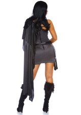 Medieval Warrior Womens Costume back