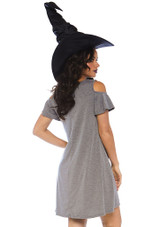 Basic Witch Jersey Dress back