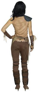 Apocalyse Warrior Womens Costume back