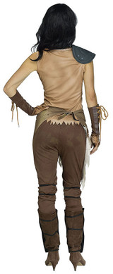 Apocalyse Warrior Womens Costume back