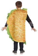 Taco Child Costume back