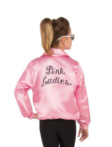 Grease Pink Ladies Jacket Adult back