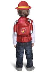 Paw Patrol Marshall Boy Costume back