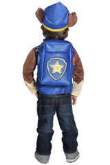 Paw Patrol Chase Boy Costume back