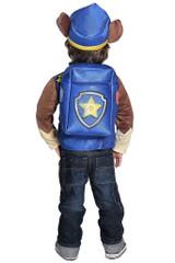 Paw Patrol Chase Boy Costume back