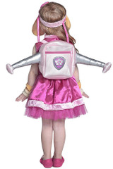Paw Patrol Skye Girl Costume back