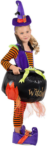 Cauldron Witch Girl Costume