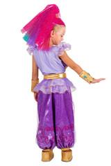 Shimmer Genie Girl Costume back