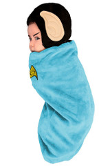 Star Trek Spock Newborn Costume back