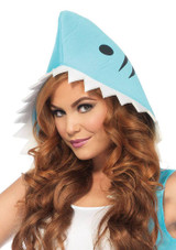 Shark Jumpsuit Womens Costume back