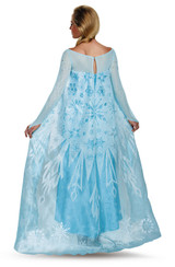 Frozen Elsa Adult Ultra Prestige Costume back
