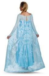 Frozen Elsa Adult Ultra Prestige Costume back