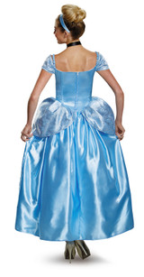 Cinderella Prestige Adult Costume back