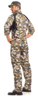 Sergeant Major Mens Costume back