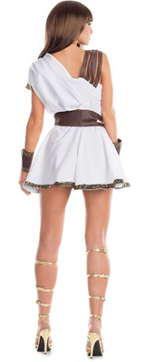 Gladiator Womens Costume back