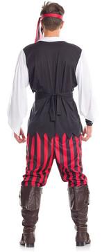 Pirate Mens Costume back