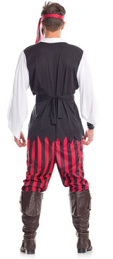 Pirate Mens Costume back