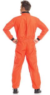 Astronaut in Orange Costume back
