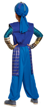 Aladdin - Genie Kid Costume back