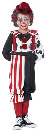 Creepy Clown Boy Costume