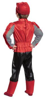 Power Rangers - Red Ranger Beast Morpher Costume back